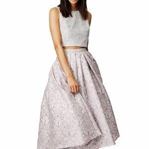 Badgley Mischka Baroque Skirt